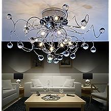 Lustre design moderne, créatif et minimaliste pour salon, chambre 11x G4, 20W, Ø 73cm (ampoules incluses)