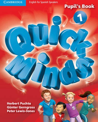Quick Minds Level 1 Pupil's Book with Online Interactive Activities - 9788483235232 por Herbert Puchta