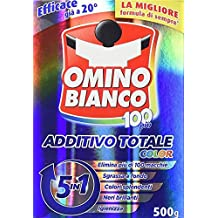 Set 14 OMINO Blanco Aditivo 500Gr color total Toallitas Detergentes
