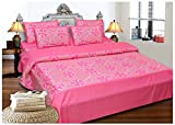 Click Shoppe Cotton Double Bedsheet With...