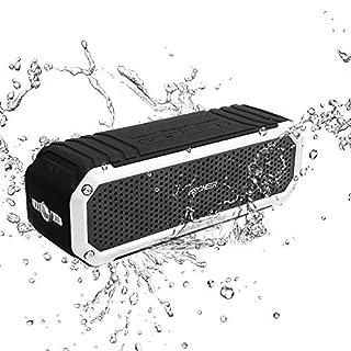 bluetoothSpeaker Portable,ARCHEERWaterproof A226PortableSpeakersOutdoorWirelessSpeaker with FlashlightBlack