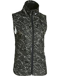 Under Armour heastgear running chaleco puede multicapa Up Storm Vest, otoño/invierno, mujer, color Negro - Blk/Ref, tamaño L