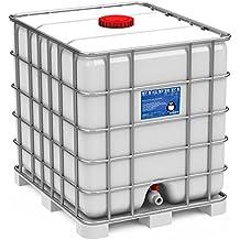 Streusalz Ersatz : Fertige Sole, Salzlösung in 1.000-Liter-Kanister, Gitterbox Winterdienst Glatteisbekämpfung Streusalz Alternative