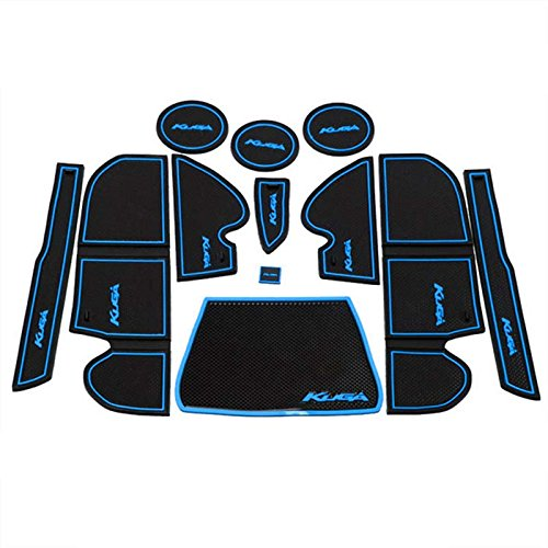 protrex-uk-ford-kuga-second-generation-2012-present-non-slip-interior-door-bin-mats-cup-holder-rubbe