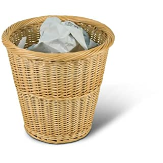 Adam Schmidt Wicker Waste Paper Basket Made from willow, size X X 340 mm, natural