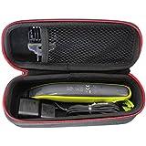 Difficile Voyage Cas Sac pour Philips OneBlade QP2530/30 QP2520/30 Hybrid trimmer & shaver par VIVENS