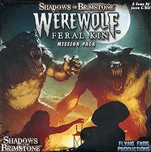 Flying Frog Productions FFP07MP05 Sombras de Brimstone: Werewolves-Mission Pack