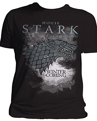 Toys Us Shirt R (Game Of Thrones T-Shirt House Stark Größe XXL Winter Is Coming 2XL)