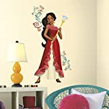 Thedecofactory rmk3295gm Disney Princess Elena of Avalor Giant Peel and Stick Wall Decals Reutilizables, Vinilo, 104 x 46 x 0,1 cm