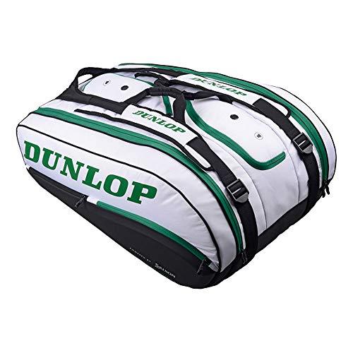 DUNLOP CX Performance - Borsa da Tennis, Confezione da 15, Colore: Bianco/Verde