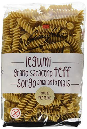 Garofalo Fusilli Legumi e Cereali - Pacco da 10 x 400 g, Senza glutine