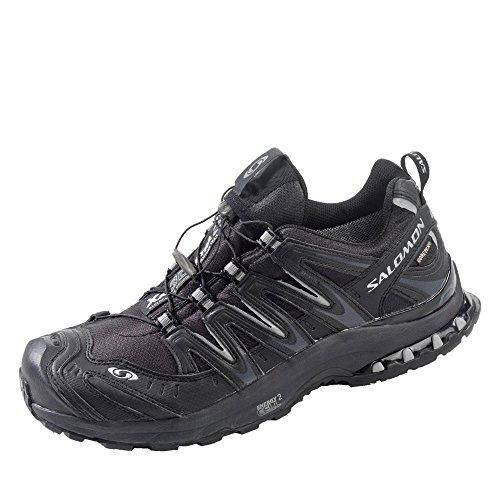 Salomon XA Pro 3D Ultra 2 GTX® L30894400 Damen Sportive Sneakers, Schwarz (Black/Asfalt/Light Grey), 36 EU