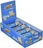 Powerbar Protein Riegel Clean Whey Low Sugar Eiweiß-Riegel (ohne Schokoladenüberzug Fitness-Riegel) Vanilla Coconut Crunch, 18 x 45g