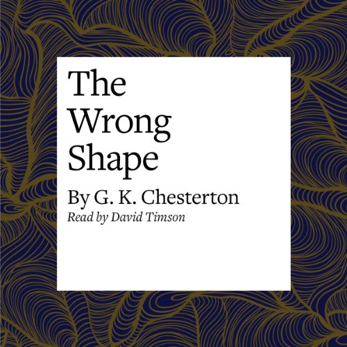 The Wrong Shape  Audiolibri