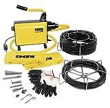 REMS-Elektrische Rohrreinigungsmaschine Cobra 22 Set 16+22