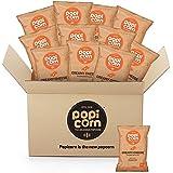 PopiCorn Creamy Cheese Popcorn [Pack of 12] [35g Each]