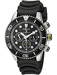 Seiko Men's Analogue Quartz Watch with Rubber Strap – SSC021
