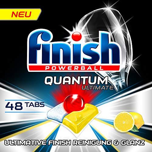 Finish Quantum Ultimate XXL Pack Spülmaschinentabs, Citrus, 48 Stück