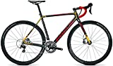 Focus Mares 105 Cyclocross Bike 2017 (Carbon/Rot/Orange, 56cm)