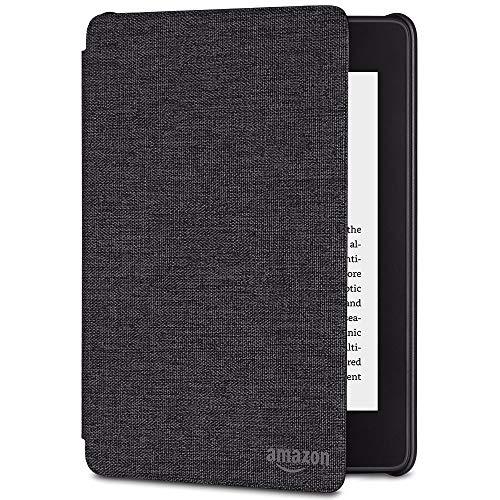 Amazon Kindle Paperwhite-Hülle aus wassergeeignetem Stoff (10.Generation – 2018), Kohlenschwarz