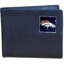 NFL Denver Broncos Leather Bi-fold Wallet