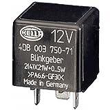 HELLA 4DB 003 750-717 Blinkgeber, 12V, elektronisch