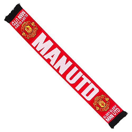 Manchester United 'Gloria Gloria de bufanda–rojo