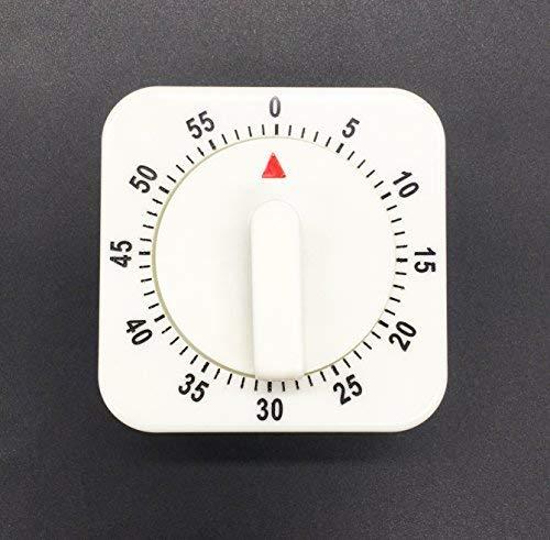 Mechanische Küche Timer, Alarm Sound 60Minuten Countdown Timer, magnetischer Rückseite Kochen Timer