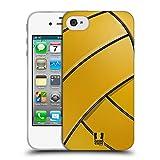 Head Case Designs Wasserball Ball Kollektion 2 Soft Gel Hülle für Apple iPhone 4 / 4S