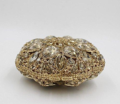 Abendmode Paket europäischen und amerikanischen Stil Kristall voller Diamantbohrgerät Farbe des Beutels 4 color 1