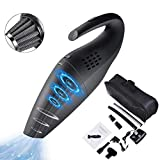 Handheld Cordless Vacuum Cleaner, LTPAG Wet and Dry Cordless Dustbuster Quickly Rechargeable Auto