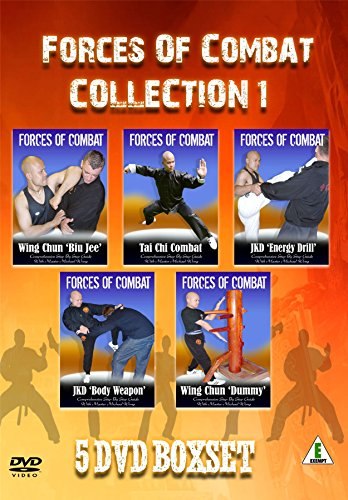 Forces of Combat Collection 1 of Kung Fu Wing Chun Martial Arts DVDs Master  Wong