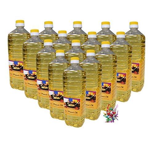 15x 1000ml Erdnussl Arachide Olie Peanut Oil Ein Kleines Glckspppchen Holzpppchen
