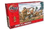Airfix A00716 1/72 Figuren WWII US Marines, grau