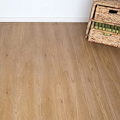 8mm - AC4 V-Groove - Laminate Flooring - Cherry Classic Oak - 2.22m2 - cheap UK light store.