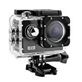 ELE CAM Explorer WiFi Sport Outdoor-Action Video Kamera Wasserdichte 16MP 4K 1080P 64GB 170 °...