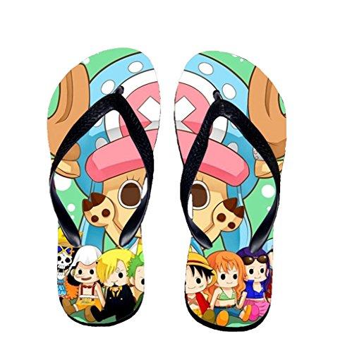 Bromeo One Piece Anime Unisexe Flip Flops Tongs 351