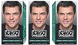 3 x Just For Men Hair Colour Original Formula - Dark Brown Black (H45)