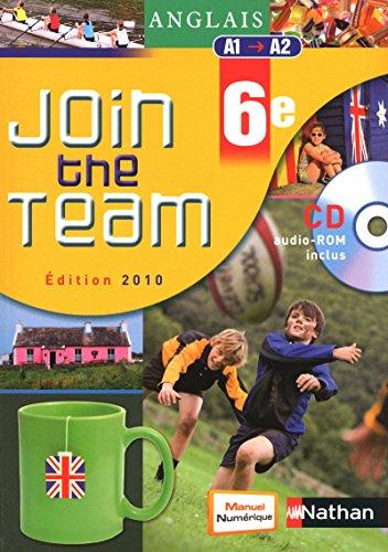 Anglais - Join the Team 6e par Cyril Dowling
