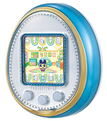 Tamagotchi 4U, color azul