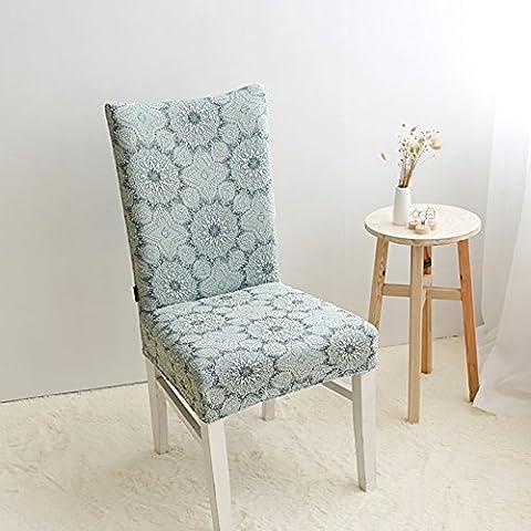Tratto coperchio del computer/Ufficio conjoined coprisedie/ minimalista Intrattenimenti copertura della sedia/ sgabello-blu