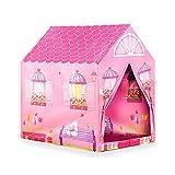 Wubox Kinderspielhaus - Zelt, Bällebad, Spielhaus für Kinder und Babys in verschiedenen Ausführungen, Größen und Designs - zum Spielen und Verstecken für den Garten und das Kinderzimmer, Zeltname:Girl House