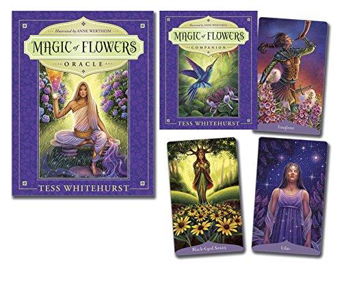 Magic of Flowers Oracle par Tess Whitehurst, Anne Wertheim