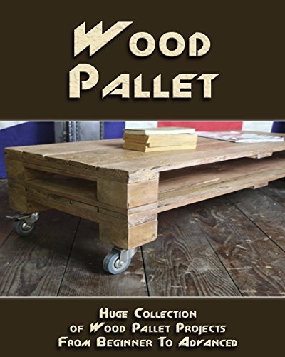 Wood Pallet: Huge Collection of Wood Pallet Projects From Beginner To Advanced Level: (DIY palette projects) (DIY household hacks) (English Edition)