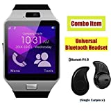 #8: ApeCases® SAMSUNG Galaxy Note 5 Dual Compatible SW Bluetooth Smart Watch Phone With Camera and Sim Card Support Android/IOS Fitness band with FREE GIFT