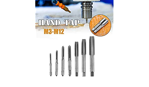 TOP INTERMEDIATE BOTTOM M4 X 0.7 HSS SCREW TAPS 3 PCS BOX SET