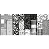 Vivi Gade 25 x 35 cm Paris Design Paper Decoupage Assorted Sheet, Pack of 8