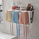 Rong toothbrush holder Bad trottel zahnbürste Rack, kein Loch spülen - Cup, zahnbürste, Rack, Mauer, kleiderbügel, Cup - zahnbürste.