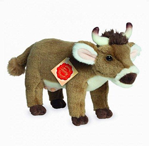 Teddy Hermann 917274 Kuh stehend Plüsch, 22 cm
