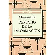 Manual de derecho de la informacion